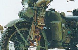 Moto Clasica militar Guzzi Alce